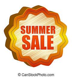 label summer Sale