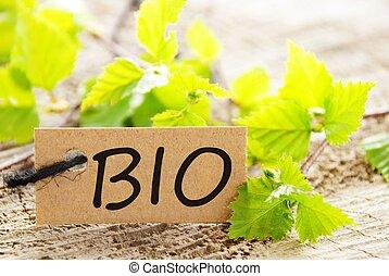 label with BIO