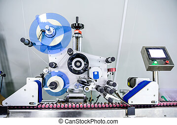Labeling machine - View on modern labeling machine at...