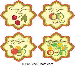 Labels Fruit