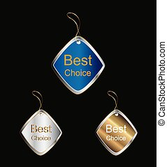 labels tag best choice vector