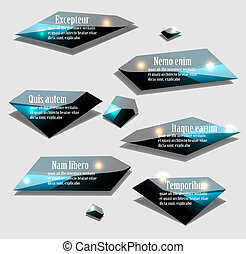 Labels vector set