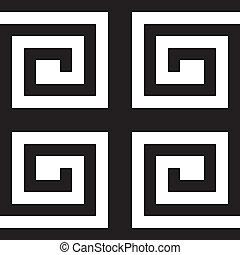labirinth, impossible, résumé, carrée, fond