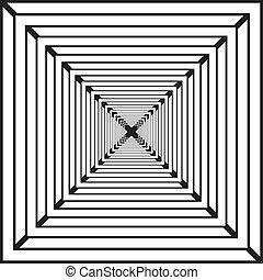 labirinth, résumé, carrés, pseudo, fond