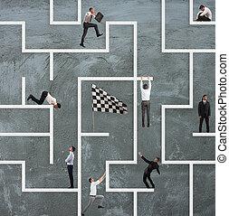 labirinto, affari gioco