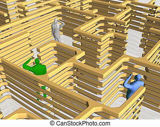 labirinto, business.