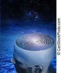 labirinto, mente