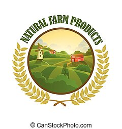 Lable for organic farming products
