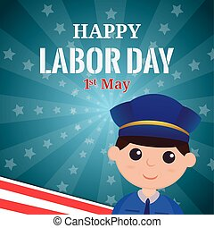 Labor day - abstract labor day background with some special...