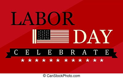 Labor day background style collection