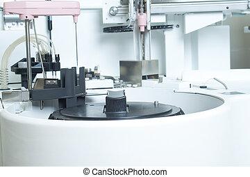 labor, elemzés, felszerelés