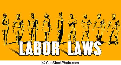 Labor Laws Concept