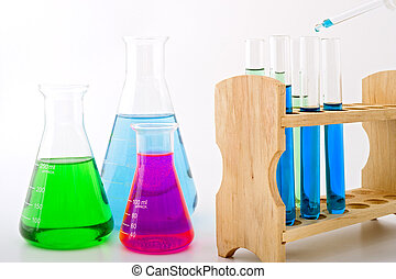 laboratório ciência