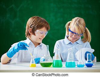 laboratóriumi munka