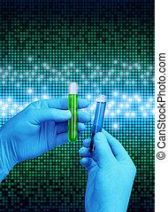 laboratoire, numérique, science