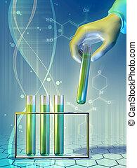 laboratorio, esperimento