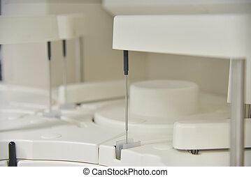 laboratorio medico, ciao tecnologia, equipment.