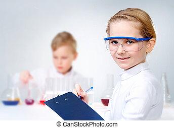 laboratorium, afdelingssygeplejersken
