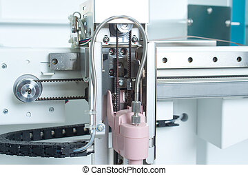 laboratorium, analyzing, uitrusting