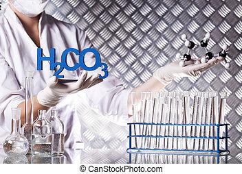 laboratorium, assistent