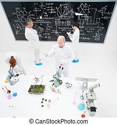 laboratorium, experimentellt, studierna