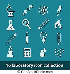 laboratorium, iconerne