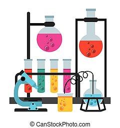 laboratorium, naukowy