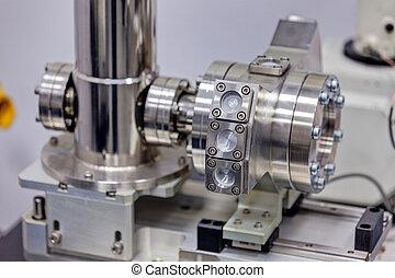 laboratorium, physik, detail, maschinerie