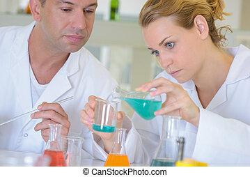 laboratorium, testning