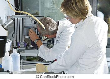 laboratorium werk