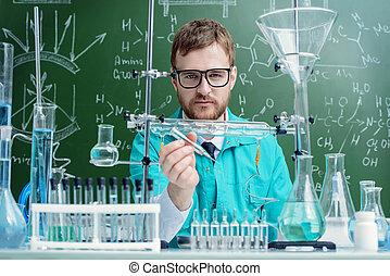 laboratorium, wetenschapper
