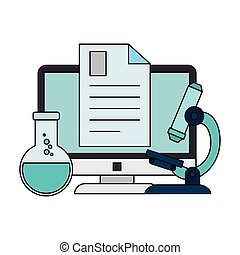 laboratoriumglas, computer document