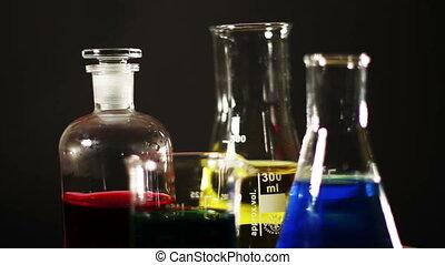 Laboratory CSI Concept rotating 03 - CSI laboratory scene