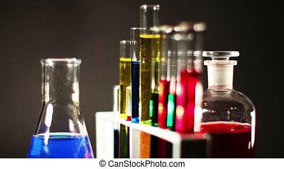 Laboratory CSI Concept rotating 05 - CSI laboratory scene