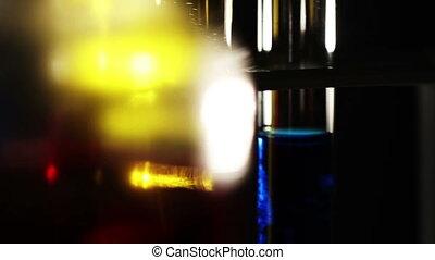 Laboratory CSI Concept rotating 08 - CSI laboratory scene