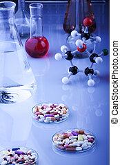 Laboratory experiments concept
