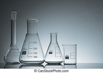 laboratory flasks