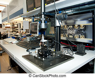 Laboratory for recovering data - Modern laboratory for...