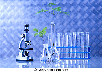 laboratory mikroskop, barometr