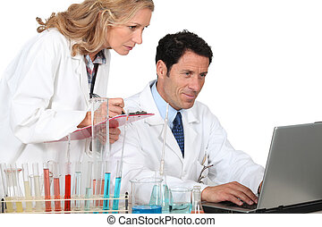 Laboratory technicians