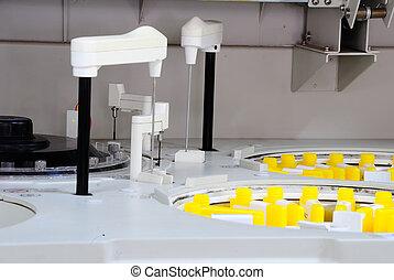 laboratoryjny medyczny, instrument., analizator, zautomatyzowany