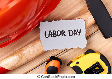 Labour Day paper and tools.