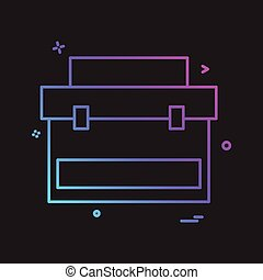 Labour icon design vector