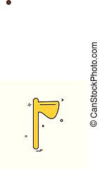 Labour tool icon design vector