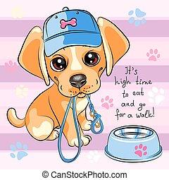 labradorwelpe, hund, apportierhund