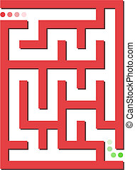 labyrint, baggrund