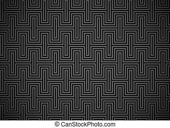 labyrint, behang