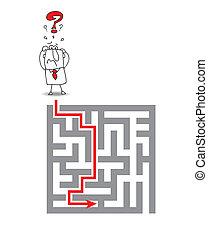 labyrint, komplex