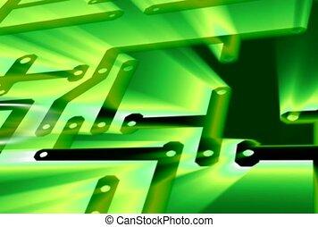 labyrinth, green, plot