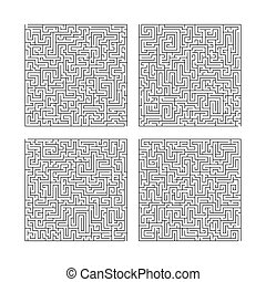 Collection of four puzzles